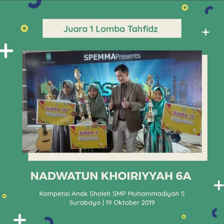 Juara 1 Lomba Tahfidz